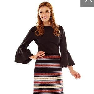 8a268d344cf Sara Campbell Black Bell Sleeve
